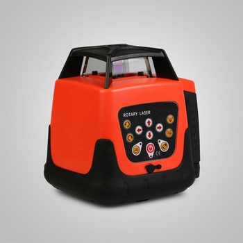 150m Range Updated Automatic Self-leveling Rotary Red Laser Level with Tripod and Staff