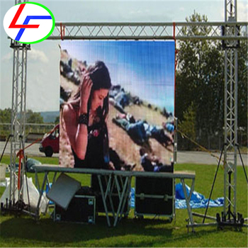 wall die-casting aluminum led screen indoor p6 outdoor video panel