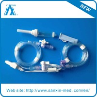 ISO Approved Disposable Blood Pressure transducer With Edward Connector