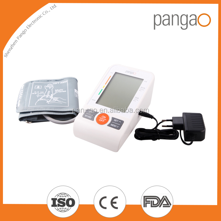 FDA and CE digital arm high quality hot sell blood pressure monitor meter