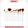 2017 Beauty trend private label synthetic hair 15pcs make up brush set