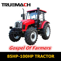 85HP-100HP 4WD Farm Agricultural Tractor