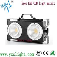 LED COB 2 eyes blinder Audience Light outdoor