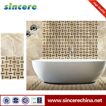 Foshan China Supper Ceramic Polished White Tile commercial kitchen floor tiles