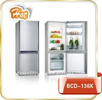BCD-136K combi fridge freezer