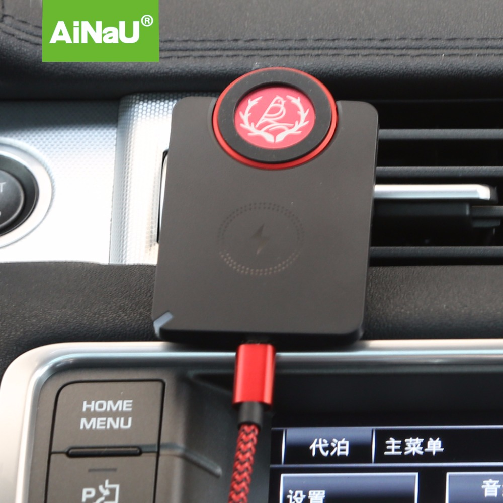 QI standard 5V 1A Magnetic wireless charging pad for car use