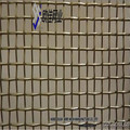 china anping factory supply stainless steel woven wire mesh/decorative wire mesh