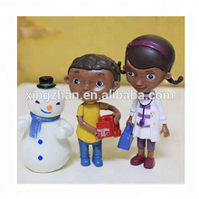 New cartoon Doctor 3D plastic figurine high quality PVC classic toys