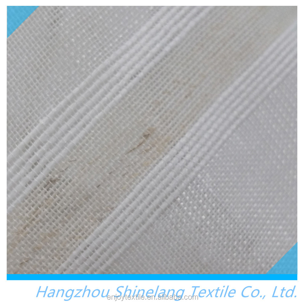 Wholesale cheap polyester Polyester spun sheer voile fabric