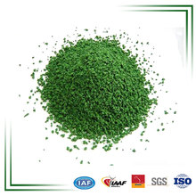 China Stock Green Rubber Granule For Fake Grass Turf