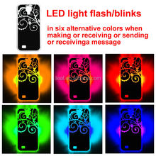 Creative Style LED Light Flash protective case for Samsung Galaxy S4 Flash Case