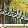 Powder coated galvanized steel iron/aluminum fencing