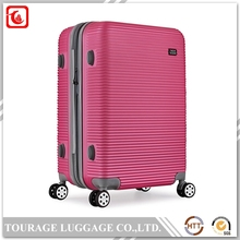 Famous Brand PC ABS Luggage And Travel Bag , Abs Hard Sell Suitcase