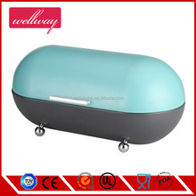 Hot sell stainless steel round bread bin