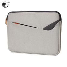 Waterproof cloth+velvet fashion laptop sleeve case