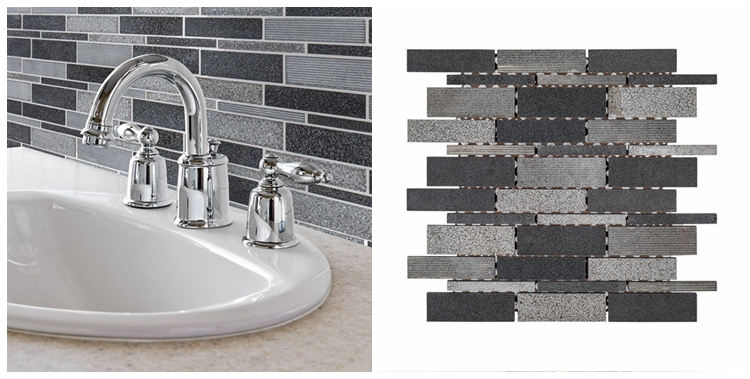 Decorstone24 Promotion Basalt Stone Mosaic Wall Tiles