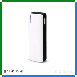 Wholesale Power Bank Charger, Dual USB Port polymer portable battery charger 10000mah