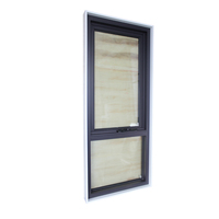 AS2047 white timber reveal chain wider awning window in top quality