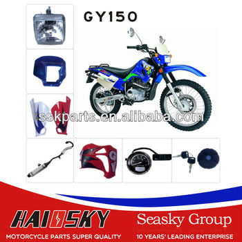 HAISSKY gy150 motorcycle parts and accessory from China factory