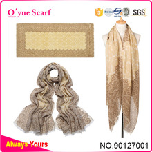 2015 High Quality Winter Cotton Portuguese scarf