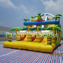 2016 Hot!! coconut tree Inflatable slide /high quality inflatable slide for fun / inflatable slide for kids