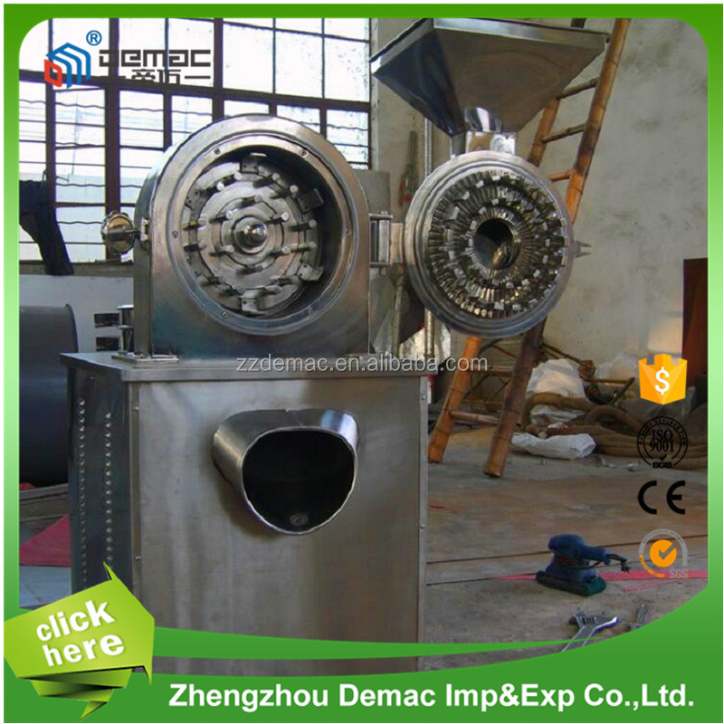 Stainless steel automatic herbal medicine powder making machine