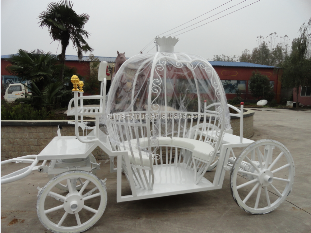 Pony pumpkin carriage for wedding cinderella decorations carriage