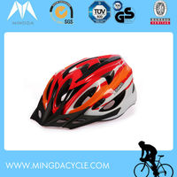 CE certificated in mould bike helmets for adults