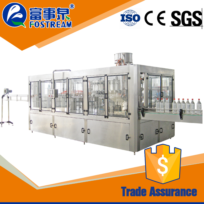 Chinese factory automatic bv mineral pure bottle water filling machine