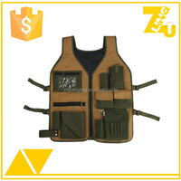 Hot sales unisex heavy duty worker vest working tool vest
