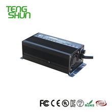TengShun 54.6v 5a lithium li ion battery charger for 48v lithium battery on electric bike scooter rickshaw