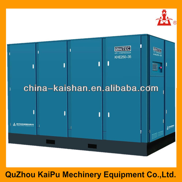 KHE series high pressure electric screw air compressor oil separator