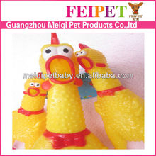 Funny rubber chicken for dog toy pet toy wholesale in China