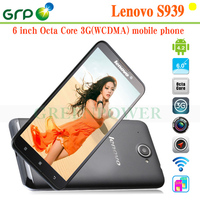 cheapest mobile telephone Lenovo S939 phone 6 inch MT6592 Octa Cores android 4.2