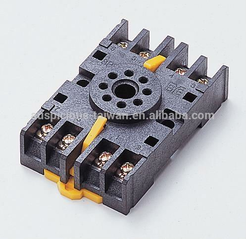 8 Pins Timer Relay Socket 8PFA (P2CF08)