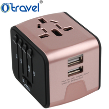 2017 Free Samples USA/Australia/Europe/UK worldwide plugs universal ac travel adaptor