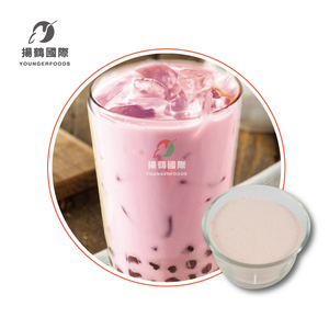 Hot Sell Tasty Sakura Rose Milk Tea Powder