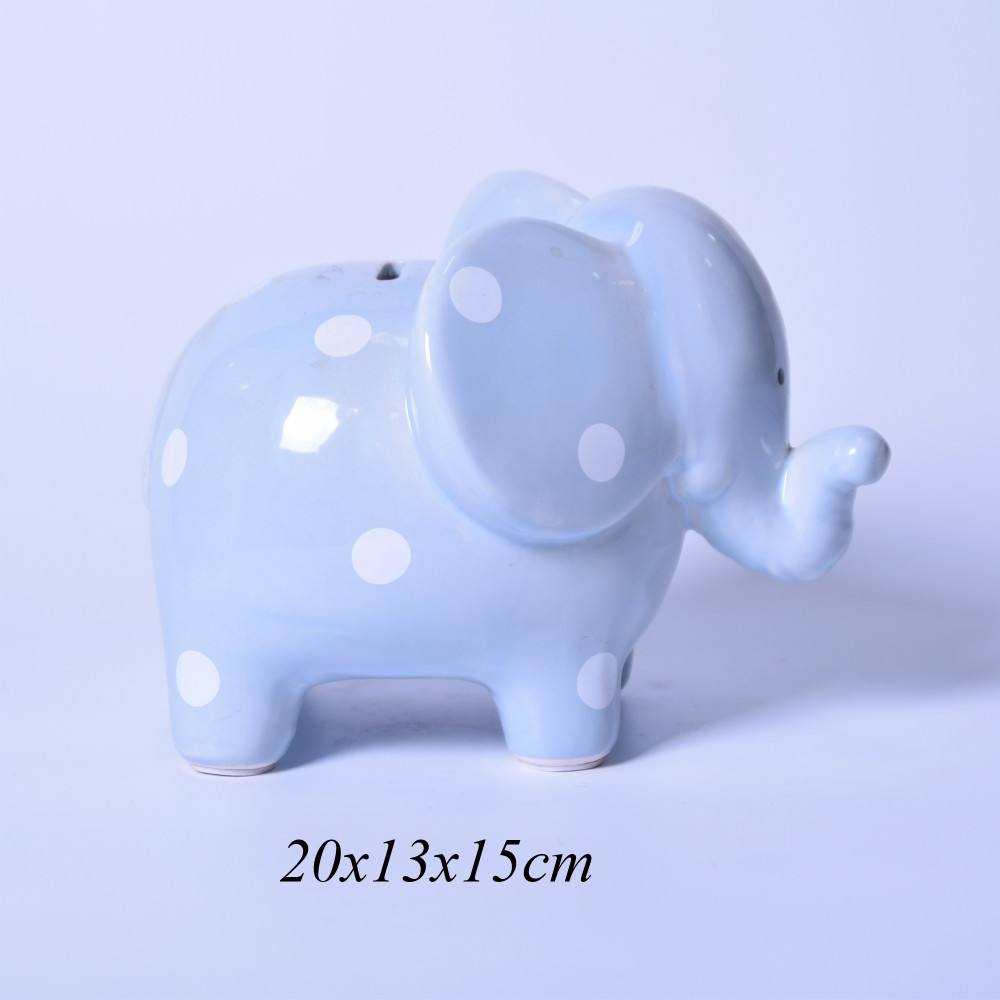 Ceramic Elephant piggy bank for kids,Ceramic piggy bank money boxes,Ceramic money saving box