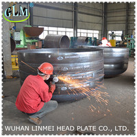 Professional Manufacture Elliptical Head/Dished Heads End Cpas Tank Head For Pressure Vessel