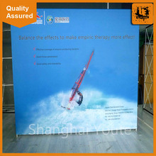 fabric store display easy folding pop up display high quality tension fabric display