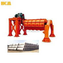 V-pipe socket and spigot joint concrete culvert pipe machine