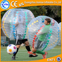 Amazing 100% 1.0mm PVC soccer bubble, recreational soccer, wholesale ball pit balls