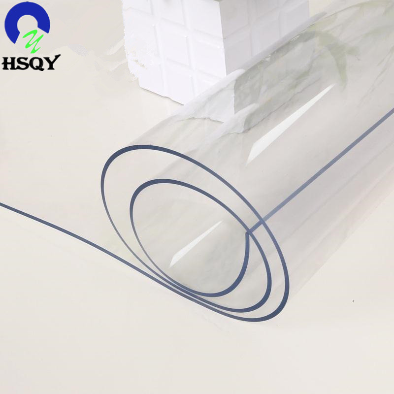 Super Clear Transparent Crystal Soft PVC Film Plastic Packaging