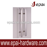 push pull handles semi-circle bar with star design SS 304 handle