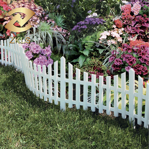White Special Modeling Cheap High Quality Plastic Fence For Garden