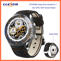 Cheap smart watch I2 watch phone android wifi 3g smart watch with full round screen