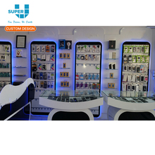 2018 Excellently Modern Retail Store Cell Phone Mall Accessories Kiosk