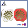 high end decorative chocolate box packaging with hot foil stamping