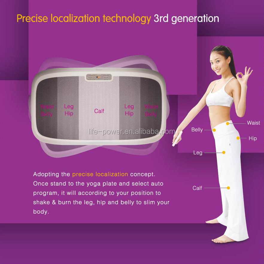 2014 hot sale vibration plate pro power plate vibration plate pro power plate LP-320 Yoga Plate