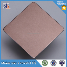 High Quality Colored Decorative 316 304 sand blasting for stainless steel